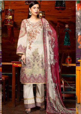 Rangoli by Shamira Embroidered Lawn Unstitched 3 Piece Suit SHR20N 9 - Summer Collection