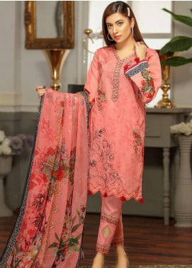 Rangoli by Puri Fabrics Embroidered Lawn Unstitched 3 Piece Suit PF20RG 1 - Summer Collection