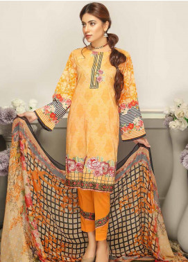 Rangoli by Puri Fabrics Embroidered Lawn Unstitched 3 Piece Suit PF20RG 10 - Summer Collection