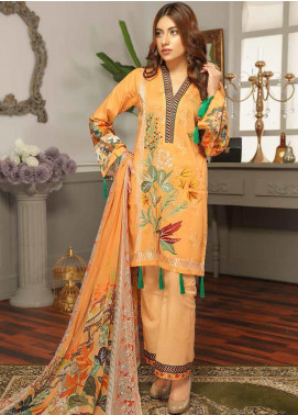 Rangoli by Puri Fabrics Embroidered Lawn Unstitched 3 Piece Suit PF20RG 5 - Summer Collection