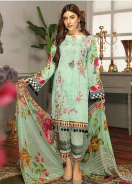 Rangoli by Puri Fabrics Embroidered Lawn Unstitched 3 Piece Suit PF20RG 6 - Summer Collection