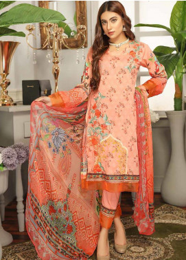 Rangoli by Puri Fabrics Embroidered Lawn Unstitched 3 Piece Suit PF20RG 7 - Summer Collection