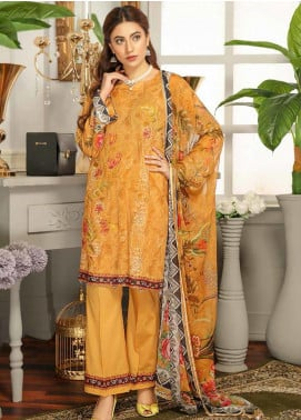Rangoli by Puri Fabrics Embroidered Lawn Unstitched 3 Piece Suit PF20RG 8 - Summer Collection
