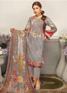 Rangoli by Puri Fabrics Embroidered Lawn Unstitched 3 Piece Suit PF20RG 9 - Summer Collection