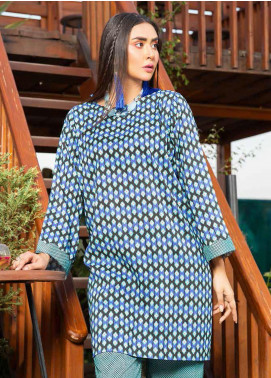 Rangoli by Ittehad Textiles Printed Linen Unstitched 2 Piece Suit ITD20R 3506 B - Winter Collection