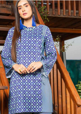 Rangoli by Ittehad Textiles Printed Linen Unstitched 2 Piece Suit ITD20R 3511 B - Winter Collection