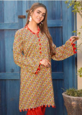 Rangoli by Ittehad Textiles Printed Linen Unstitched 2 Piece Suit ITD20R 3515 A - Winter Collection