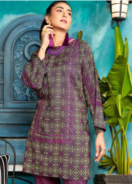 Rangoli by Ittehad Textiles Printed Linen Unstitched 2 Piece Suit ITD20R 3516 A - Winter Collection