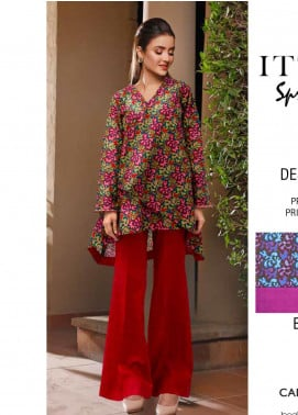 Rangoli by Ittehad Textiles Printed Lawn Unstitched 2 Piece Suits IT20R 11A - Spring / Summer Collection
