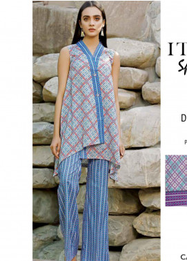 Rangoli by Ittehad Textiles Printed Lawn Unstitched 2 Piece Suits IT20R 23A - Spring / Summer Collection