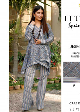 Rangoli by Ittehad Textiles Printed Lawn Unstitched 2 Piece Suits IT20R 28C - Spring / Summer Collection