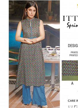 Rangoli by Ittehad Textiles Printed Lawn Unstitched 2 Piece Suits IT20R 29B - Spring / Summer Collection