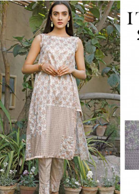 Rangoli by Ittehad Textiles Printed Lawn Unstitched 2 Piece Suits IT20R 2C - Spring / Summer Collection