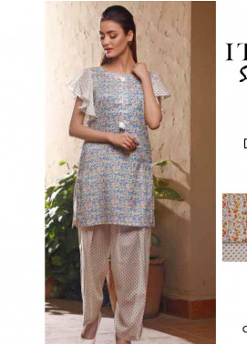 Rangoli by Ittehad Textiles Printed Lawn Unstitched 2 Piece Suits IT20R 39C - Spring / Summer Collection