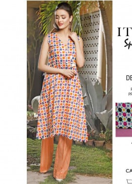 Rangoli by Ittehad Textiles Printed Lawn Unstitched 2 Piece Suits IT20R 40B - Spring / Summer Collection