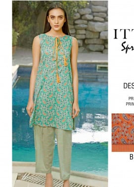 Rangoli by Ittehad Textiles Printed Lawn Unstitched 2 Piece Suits IT20R 42A - Spring / Summer Collection