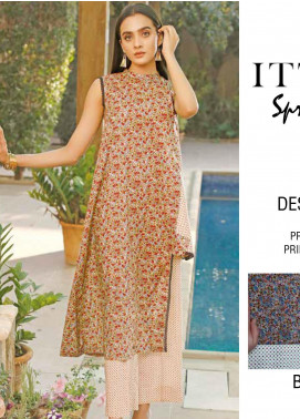 Rangoli by Ittehad Textiles Printed Lawn Unstitched 2 Piece Suits IT20R 5A - Spring / Summer Collection