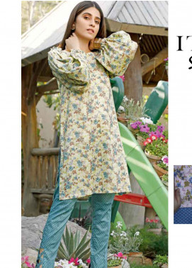 Rangoli by Ittehad Textiles Printed Lawn Unstitched 2 Piece Suits IT20R 8B - Spring / Summer Collection