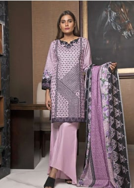 Rangreza Embroidered Lawn Unstitched 3 Piece Suit RZS19L 06B - Spring / Summer Collection