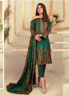 Rangreza Printed Lawn Unstitched 3 Piece Suit RR20PL-16 - Summer Collection