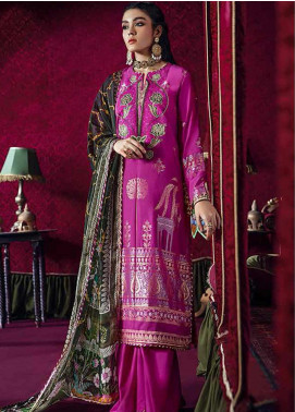 Razia Sultana by Cross Stitch Embroidered Jacquard Unstitched 3 Piece Suit CS20RS 01 SARA E HERAT-A - Eid Collection