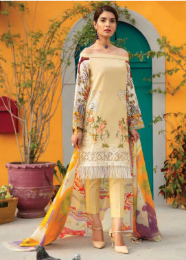 Rajbari Embroidered Lawn Unstitched 3 Piece Suit RB18-L2 3B - Summer Collection