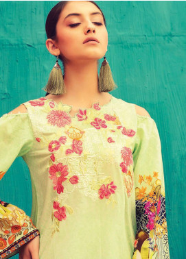Rajbari Embroidered Lawn Unstitched 3 Piece Suit RB18-L2 5B - Summer Collection