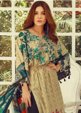 Rouche Embroidered Lawn Unstitched 3 Piece Suit RCH18L 06 - Spring / Summer Collection