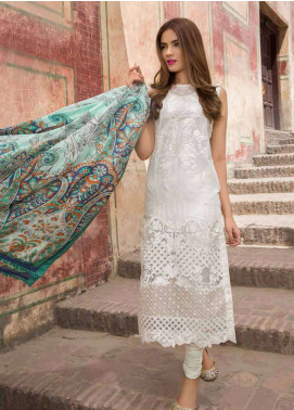 Rani Emaan Embroidered Lawn Unstitched 3 Piece Suit RE18L 04 - Festive Collection