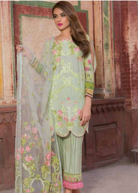 Rani Emaan Embroidered Lawn Unstitched 3 Piece Suit RE18L 09 - Festive Collection