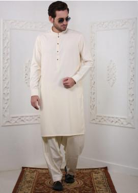 Real Image Wash N Wear Casual Kameez Shalwar for Men -  RI20SK D-434 Cream