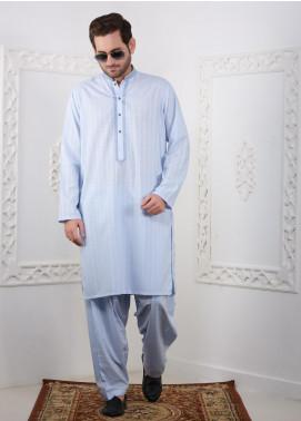 Real Image Wash N Wear Casual Men Kameez Shalwar -  RI20SK D-435 Blue