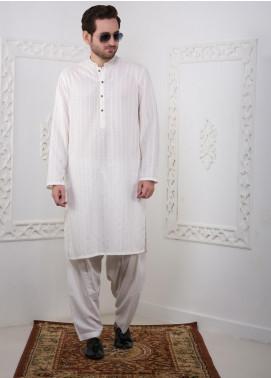 Real Image Wash N Wear Casual Kameez Shalwar for Men -  RI20SK D-435 Off White
