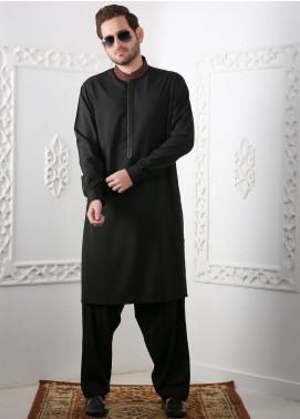 Real Image Wash N Wear Casual Kameez Shalwar for Men -  RI20SK D-442 Black