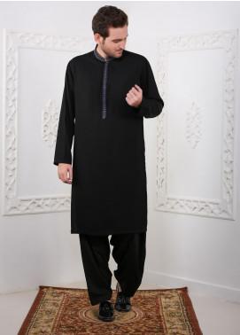 Real Image Wash N Wear Casual Kurtas for Men -  RI20K D-428 Black