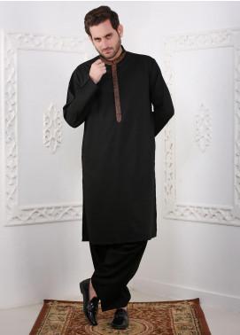 Real Image Wash N Wear Casual Kurtas for Men -  RI20K D-444 Black