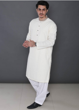 Real Image Cotton Formal Men Kurtas -  392 Cream