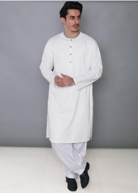 Real Image Cotton Formal Kurtas for Men -  392 Off White