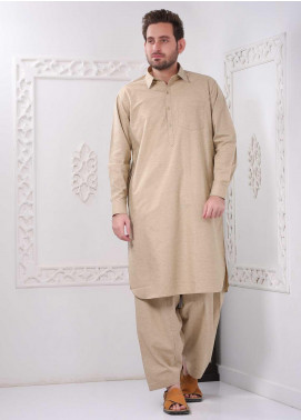 Real Image Wash N Wear Casual Kameez Shalwar for Men -  RI20WM P-33 Gold