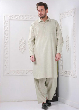 Real Image Wash N Wear Casual Men Kameez Shalwar -  RI20WM P-33 Green