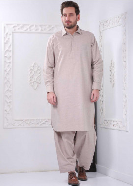 Real Image Wash N Wear Casual Kameez Shalwar for Men -  RI20WM P-33 Peach