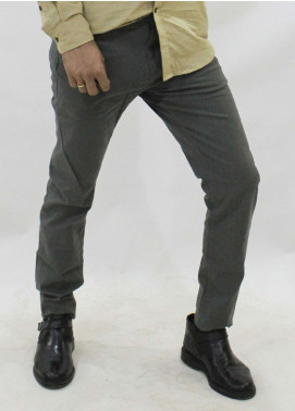 Red Tree Cotton Chino Men Pants - Grey RT5002