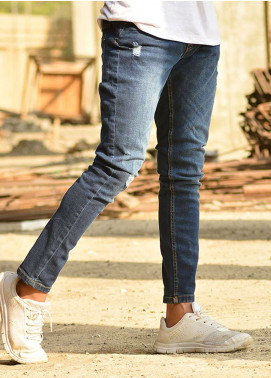 Red Tree Denim Casual Men Jeans - Blue RTP166