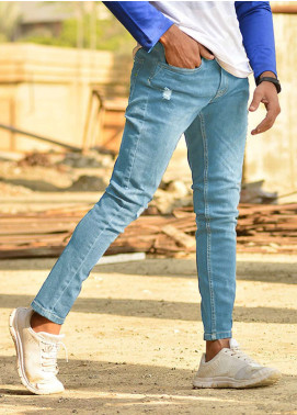 Red Tree Denim Casual Jeans for Men - Blue RTP167