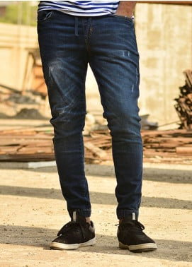 Red Tree Denim Casual Men Jeans - Blue RTP168