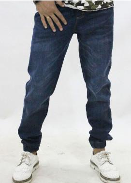 Red Tree Denim Jogger Jeans for Men - Blue RTP169