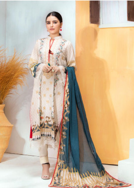Regalia Textiles Embroidered Lawn Unstitched 3 Piece Suit RG20D-3 8 - Spring / Summer Collection