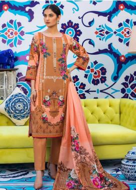 Regalia Textiles Embroidered Lawn Unstitched 3 Piece Suit RG20D 07 - Summer Collection