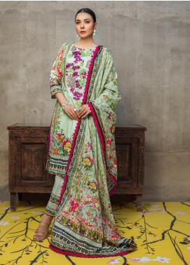 Regalia Textiles Embroidered Lawn Unstitched 3 Piece Suit RG20D 09 - Summer Collection