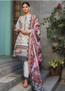 Regalia Textiles Embroidered Lawn Unstitched 3 Piece Suit RG20D 11 - Summer Collection